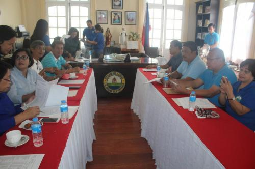 Budget Hearing held at the Municipal Hall on August 9, 2017