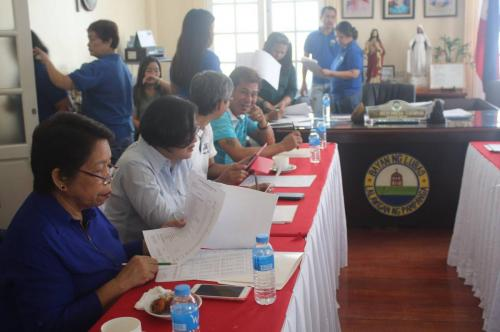 Budget Hearing held at the Municipal Hall on August 9, 2017 (3)