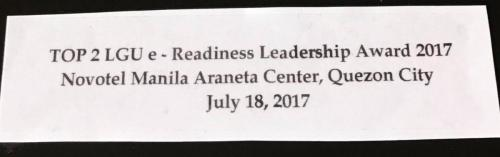 Lubao cited for E-Readiness (3)