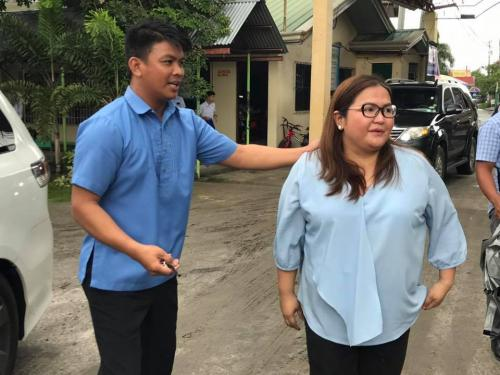 Mayor Mylyn Pineda-Cayabyab visits the San Roque Dau High School (6)