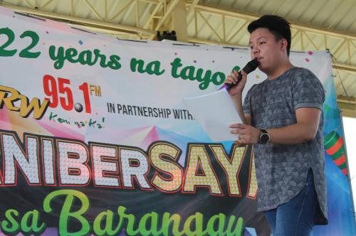 Thank you, RW 95.1 FM for bringing fun to our constituents in Lubao.