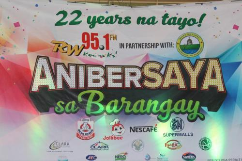 Thank you, RW 95.1 FM for bringing fun to our constituents in Lubao (24)